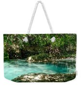 Turquoise Forest Pond On A Summer Day No3 Weekender Tote Bag