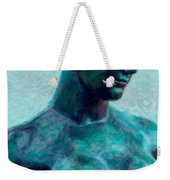 Turquoise Maiden - Digital Art Weekender Tote Bag