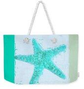 Turquoise Seashells Ix Weekender Tote Bag by Lourry Legarde