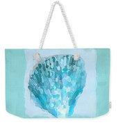 Turquoise Seashells Vii Weekender Tote Bag