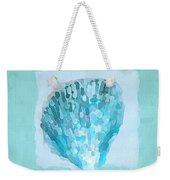 Turquoise Seashells Vii Weekender Tote Bag by Lourry Legarde