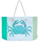 Turquoise Seashells Xv Weekender Tote Bag