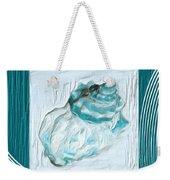 Turquoise Seashells Xxiv Weekender Tote Bag