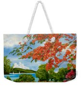 Turtle Bay Virgen Islands Weekender Tote Bag
