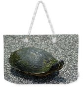 Turtle Crossing Weekender Tote Bag