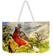 Turtle - Dove Weekender Tote Bag