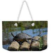 Turtle Float Weekender Tote Bag