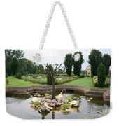 Turtle Fountian And Garden Chateau De Cormatin Weekender Tote Bag