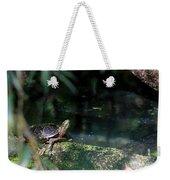 Turtle Grotto Weekender Tote Bag