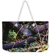 Turtle In The Glades Weekender Tote Bag