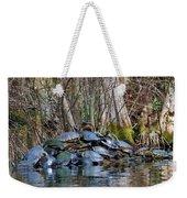 Turtle Landing Weekender Tote Bag
