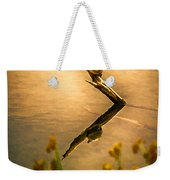 Turtle On Golden Pond Weekender Tote Bag