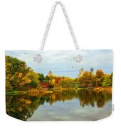 Turtle Pond 2 - Central Park - Nyc Weekender Tote Bag
