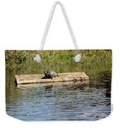 Turtle Raft Weekender Tote Bag