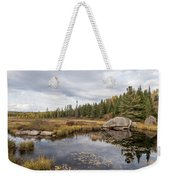 Turtle Rock Cloudy Day Weekender Tote Bag