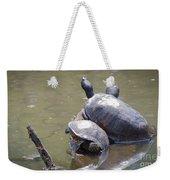 Turtle Trio Weekender Tote Bag