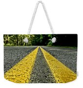 Turtle's View Of Forest Road E67 Weekender Tote Bag
