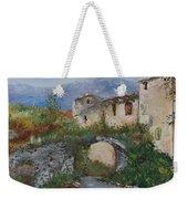 Tuscan Bridge Weekender Tote Bag