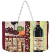 Tuscan Collage 2 Weekender Tote Bag