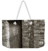Tuscan Doorway Weekender Tote Bag