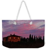 Tuscan Farmhouse And Morning Glow Weekender Tote Bag