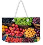 Tuscan Fruit Weekender Tote Bag