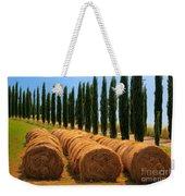 Tuscan Hay Weekender Tote Bag