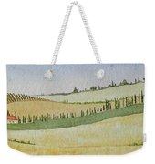 Tuscan Hillside Four Weekender Tote Bag