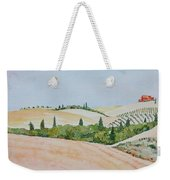 Tuscan Hillside One Weekender Tote Bag