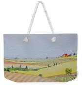 Tuscan Hillside Three Weekender Tote Bag