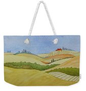 Tuscan Hillside Two Weekender Tote Bag