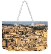 Tuscan Rooftops Siena Weekender Tote Bag
