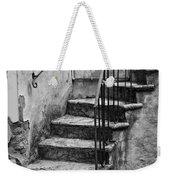 Tuscan Staircase Bw Weekender Tote Bag