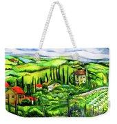 Tuscan Valley Weekender Tote Bag