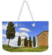 Tuscany - Cappella Di Vitaleta Weekender Tote Bag