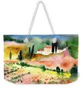 Tuscany Landscape 02 Weekender Tote Bag by Miki De Goodaboom