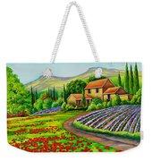 Tuscany Lavender  Weekender Tote Bag