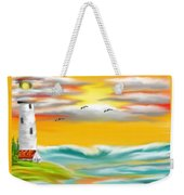 Tuscany Sea Weekender Tote Bag