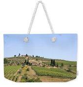Tuscany Vineyard Weekender Tote Bag