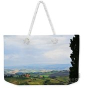 Tuscany's Special Light Weekender Tote Bag