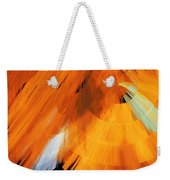 Tutu Stage Left Abstract Orange Weekender Tote Bag