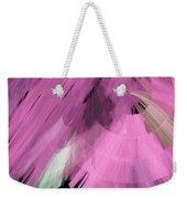 Tutu Stage Left Abstract Pink Weekender Tote Bag