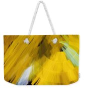 Tutu Stage Left Abstract Yellow Weekender Tote Bag