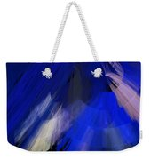 Tutu Stage Left Blue Abstract Weekender Tote Bag