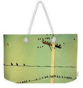 Tweeters Tweeting Weekender Tote Bag