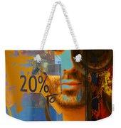 Twenty Percent Of Creativity  Weekender Tote Bag