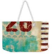 Twenty-six Stripes Weekender Tote Bag