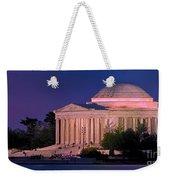 Twilight At The Jefferson Memorial Weekender Tote Bag
