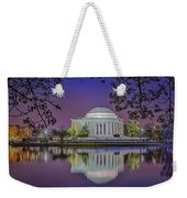 Twilight At The Thomas Jefferson Memorial  Weekender Tote Bag