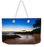 Twilight Beach - Beautiful And Secluded Secret Beach In Maui. Weekender Tote Bag